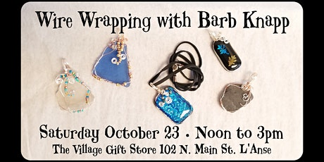 Wire Wrapping With Barb Knapp tickets