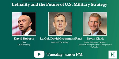 Virtual Event | Lethality and the Future of U.S. Military Strategy tickets