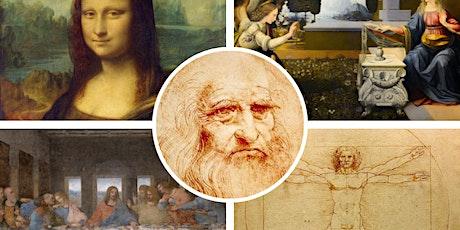 "FREE WEBINAR | ""Italy's Great Artists: Leonardo da Vinci"" tickets"
