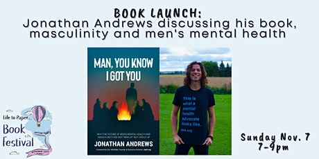 """BOOK LAUNCH: """"Man, You Know I Got You"""" by Jonathan Andrews tickets"""
