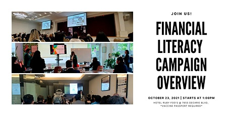Financial Literacy Campaign Overview billets