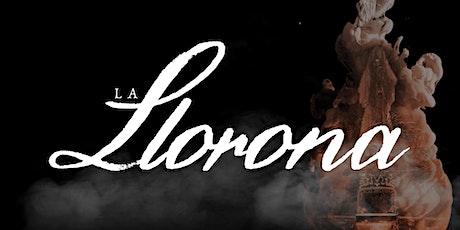 La Llorona en Xochimilco Sábado 30 de octubre 21:45Hrs. boletos