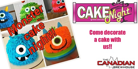 Halloween CakeNight - Sherwood Park Canadian Brewhouse - Monsters tickets