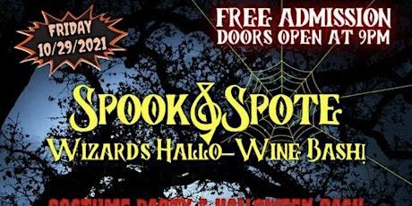 Wizards Hallo-Wine Bash tickets