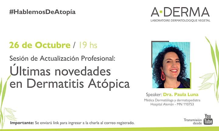 Imagen de Últimas novedades en Dermatitis Atópica con la Dra. Paula Luna