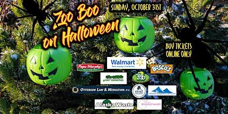 Zoo Boo 2021 on Halloween, October 31st tickets