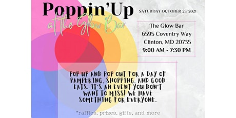 Poppin' Up at the Glow Bar tickets