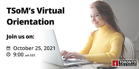 TSoM Virtual Orientation (November 2021) tickets