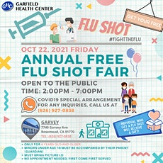 GHC FREE FLU VACCINE FAIR tickets
