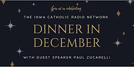 Dinner In December tickets