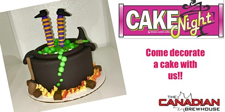 Halloween CakeNight - Ed. DownTown Canadian Brewhouse - Witch's Cauldron tickets