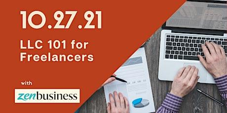 LLC 101 for Freelancers tickets