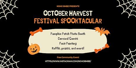 Harvest Festival Spooktacular tickets
