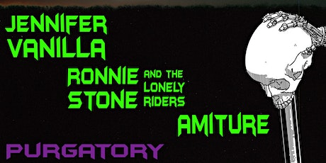 Jennifer Vanilla // Ronnie Stone and the Lonely Riders // Amiture tickets