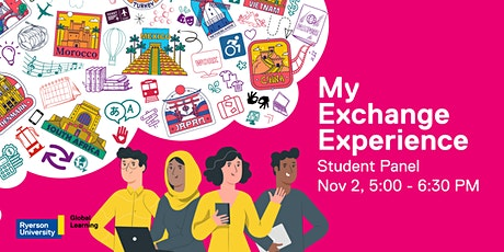 My Exchange Experience: Student Panel tickets
