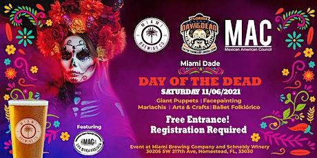 12th Annual Florida Day of the Dead Celebration! Miami Brewing Company tickets