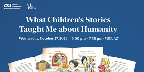 Vital Voices: What Children's Stories Taught Me about Humanity tickets