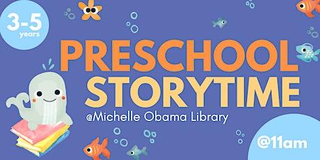 PreSchool Storytime @ Michelle Obama Neighborhood Library tickets