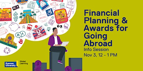 Financial Planning & Awards for Going Abroad tickets