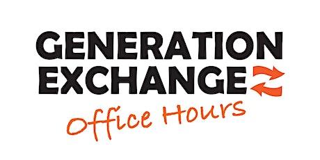 Generation Exchange Drop-in Tech Help tickets