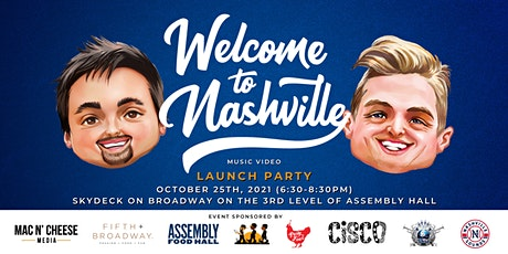Welcome to Nashville Music Video Launch Party tickets