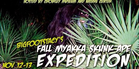 Bigfootstacy's Fall Myakka expedition tickets