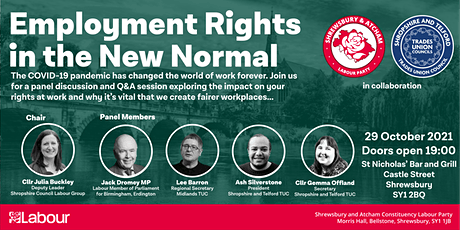 Worker's Rights in the New Normal tickets