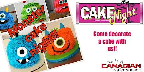 Halloween CakeNight - Leduc Canadian Brewhouse - Monster Cake tickets