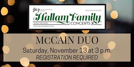 Hallam Family Concert: November 13 tickets