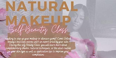 Natural Makeup self-Beauty Class tickets
