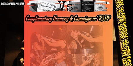 Casamigos vs Hennessy Take A Shot Thursdays Ladies Night Out Taj Lounge NYC tickets