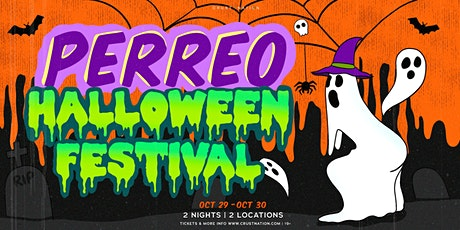 PERREO PARRTY : NYC Halloween Reggaeton Friday Party - TIX RUNNING LOW tickets