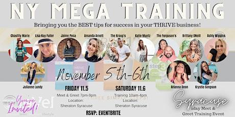 NY Mega Training; Meet & Greet- Friday tickets