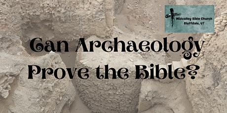 FREE Utah Conference on Archaeology and the Bible tickets