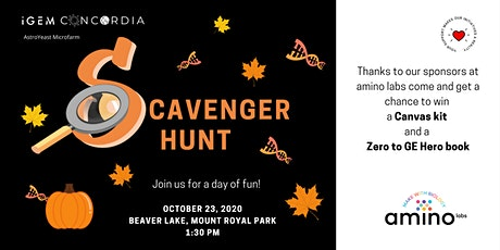 Scavenger Hunt Fundraiser billets
