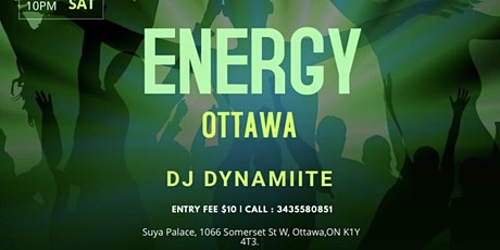 ENERGY OTTAWA tickets