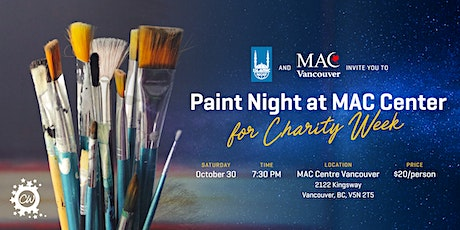 MAC Centre Paint Night | Vancouver tickets