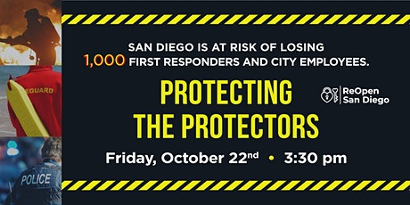 Protecting the Protectors: Press Conference at San Diego City Hall tickets