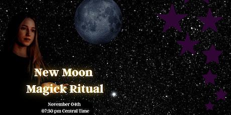 New Moon Magick Ritual tickets