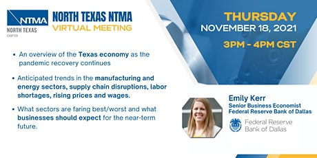 Texas Economy for Manufacturers in North Texas tickets
