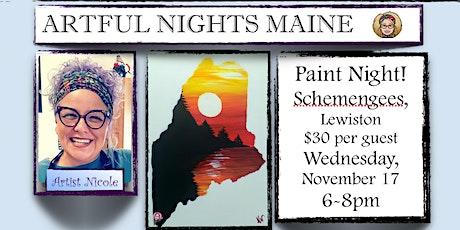 Paint Night at Schemengees Lewiston tickets