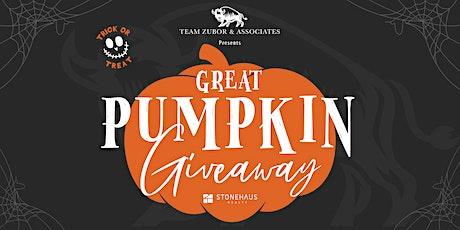 Great Pumpkin Giveaway tickets