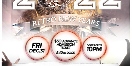 Retroclubnyc New Year's Eve Dance Party 2022 - 70s, 80s, 90s Dance Music tickets
