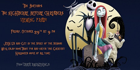 Nightmare Before Christmas Viewing Party! tickets