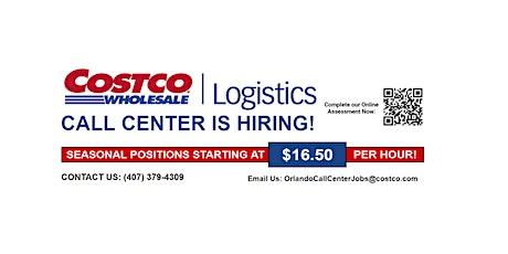Costco Logistics Call Center Job Fair biglietti