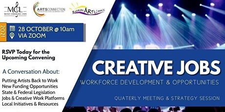 Arts for IE - October Convening: Creative Jobs tickets