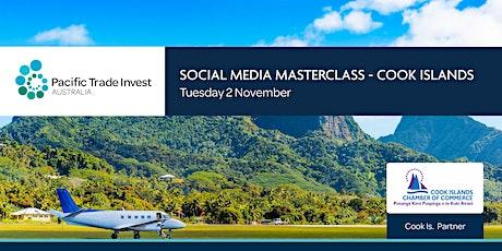 SOCIAL MEDIA MASTERCLASS – COOK ISLANDS ingressos