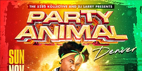Party Animal Denver with Charly Black tickets