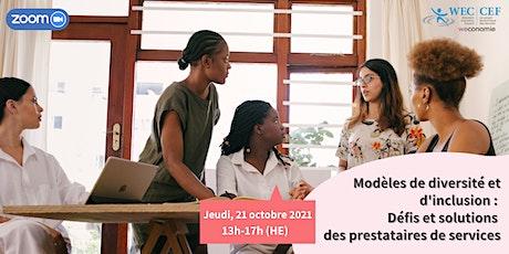 Modèles de diversité et d'inclusion : Une conférence présentée par CÉF tickets