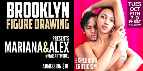 Brooklyn Figure Drawing Tuesday Zoom  Session -  Mariana & Alex tickets